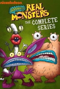 Cover Aaahh!!! Monster, Poster