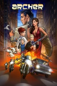 Archer Cover, Online, Poster