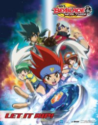Beyblade: Metal Fusion Cover, Online, Poster