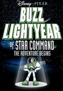 Captain Buzz Lightyear Cover, Online, Poster