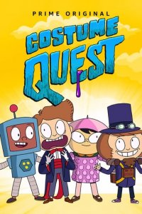 Cover Costume Quest, Poster