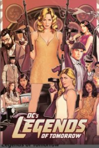 Cover DC's Legends of Tomorrow, DC's Legends of Tomorrow