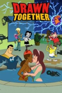 Drawn Together Cover, Poster, Drawn Together DVD