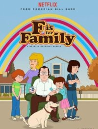 Cover F Is for Family, F Is for Family