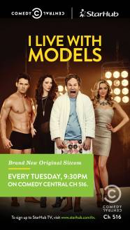 Cover I Live with Models, TV-Serie, Poster
