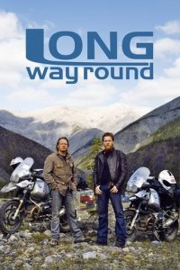 Long Way Round Cover, Online, Poster