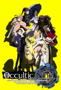 Cover Occultic;Nine, TV-Serie, Poster