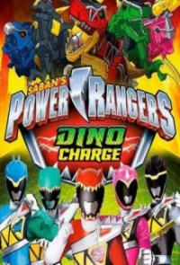 Poster, Power Rangers Dino Charge Serien Cover