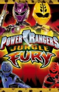 Cover Power Rangers Jungle Fury, Poster