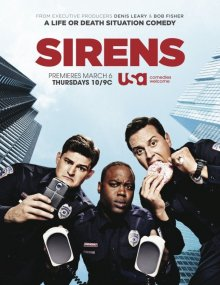 Cover Sirens, Poster Sirens