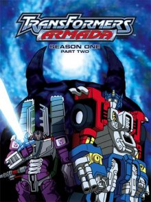 Transformers: Armada Cover, Online, Poster
